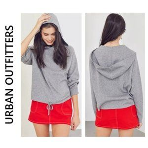 UO Silence + Noise Double Knit Hoodie NWT